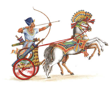 egyptian chariots red sea